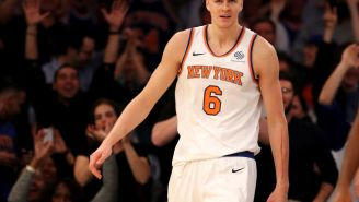 Jen Selter Continues Flirting With Kristaps Porzingis On Social Media By Casting Her All-Star Vote For Him On Twitter