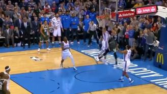 Giannis Antetokounmpo Had A Game-Winning Dunk, But It Shouldn't Have Counted