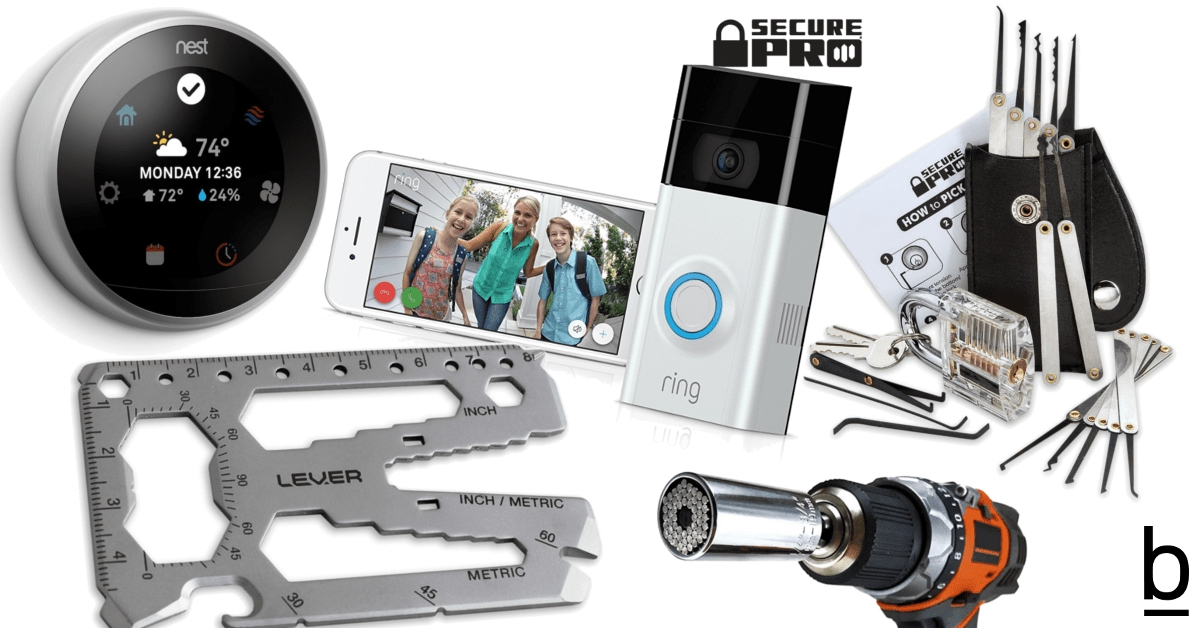 gift guide gadgets home tools