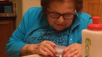 Watch An 85-Year-Old Italian Grandmother Hilariously Try To Use Google Home For The First Time