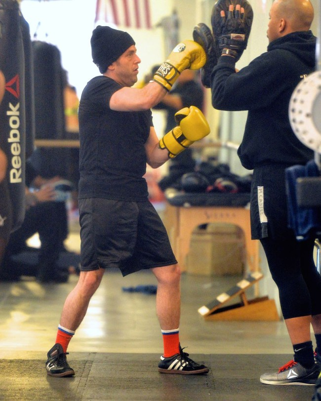 jonah hill boxing gym workout pics