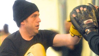 Check Out Jonah Hill Putting In Work At A Boxing Gym As Part Of His Routine To Stay In Shape
