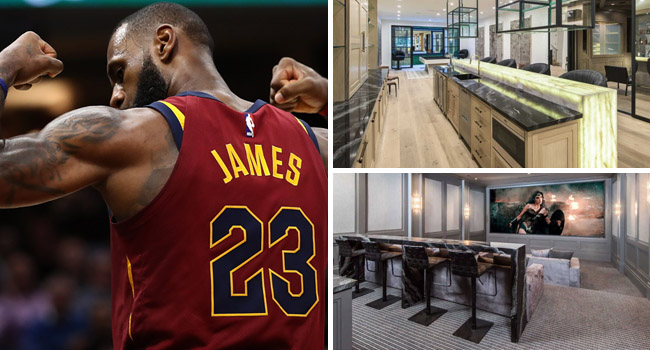 lebron james new mansion los angeles