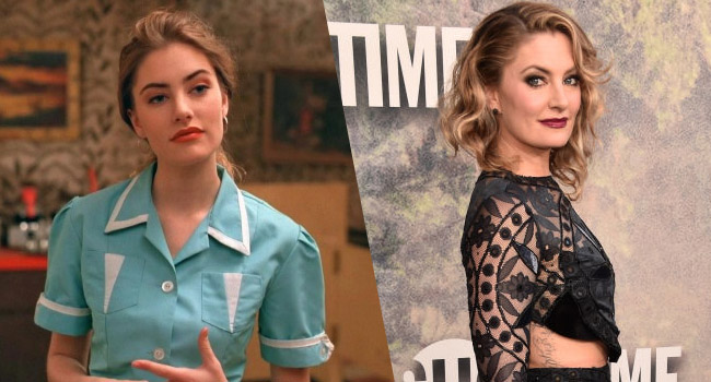 madchen amick riverdale photo shoot interview
