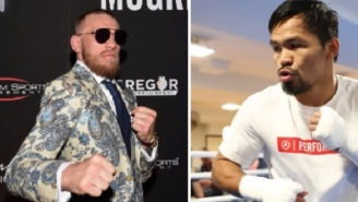 Report: Manny Pacquiao Says He's Currently In Talks To Fight Conor McGregor In April