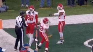 Chiefs' Marcus Peters Throws Ref's Penalty Flag Into The Stands, Then Bizarrely Leaves The Field Despite Not Being Ejected