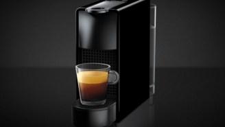 This Nespresso Mini Espresso Machine Saves Counter Space And Money