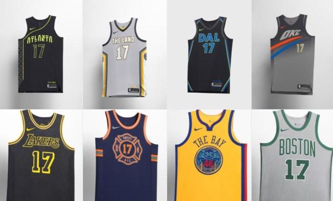 Nike City Jerseys