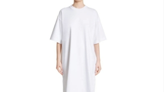 This Nordstrom KKK-Esque T-Shirt Dress Costs More Than My Rent And People Are Roasting It On The Interwebs