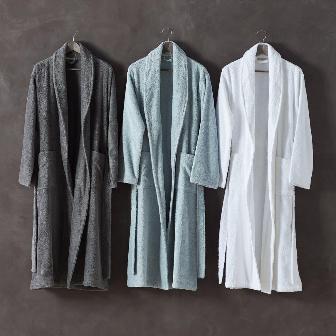 organic cotton mens robe