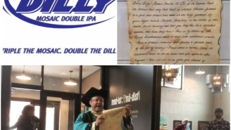 Bud Light Sent A Hilarious Cease And Desist To A Craft Brewery Making A 'Dilly Dilly' Beer