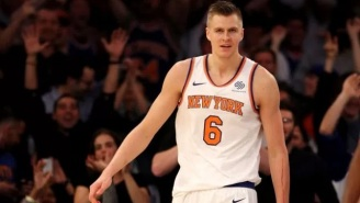 Jen Selter Goes To MSG For Lakers-Knicks Game To Root For Kristaps Porzingis Days After Flirting With The Knicks Star On Instagram