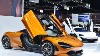 This Full-Scale McLaren 720S Is Built Out Of LEGO Using More Than 280,000 Bricks