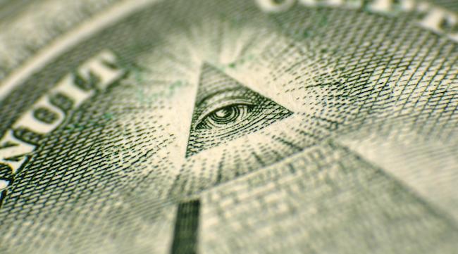 all seeing eye dollar bill