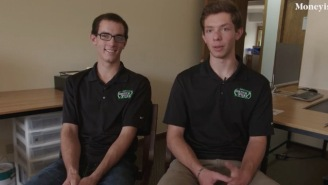 These Two Teens Are Making Six Figures A Year Mowing Lawns While Still In High School