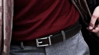 These Top-Grain Leather Trakline Belts Have No Holes And Provide A Perfect Fit Every Time (19% OFF)