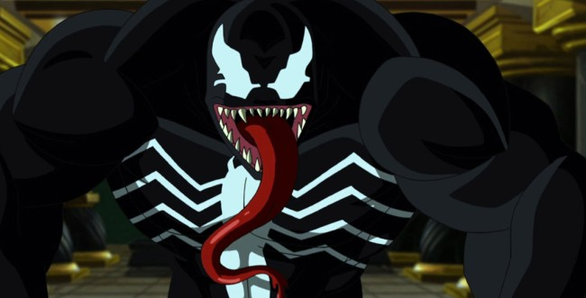 Venom Poster Logo Behind Scenes Pics