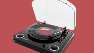 Convert Your Collection Of Vinyl Records To Digital With The Conversion Turntable (34% OFF)