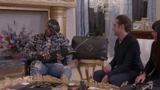 Rapper 2 Chainz Tests Out A $10,000 Survival Kit With Organic Food, Solid Gold, And More