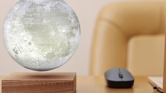 This Badass 3D Printed Levitating Moon Lamp Will Blow Your Mind