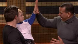 Watch 22-Month-Old Baseball Prodigy Beat A-Rod In Hitting Contest