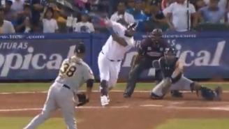 It's Only January, But This Might Be The Bat Flip Of The Year