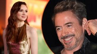 Karen Gillan's 'Avengers' Gift, RDJ's Odd Sense Of Humor Lead Today's Best Celebrity Instagrams