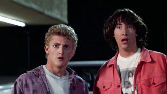 Keanu Reeves And Alex Winter Tease 'Bill & Ted 3' With Gnarly Nostalgic Photo