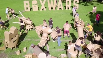 'Boxwars' Cardboard Battles Look Fun As Hell But The Paper Cuts Must Be Deadly