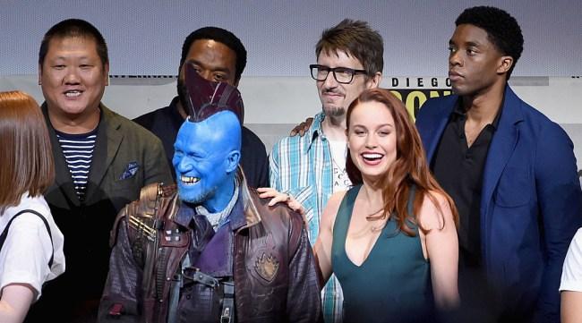 Brie Larson Captain Marvel Costume First Photos