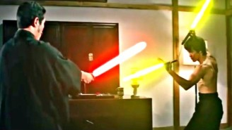 Glorious Fan Edit Gives Bruce Lee Lightsaber Nunchucks And God Bless The Internet