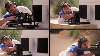 Dudes Fire Four Powerful Guns And Film The Shots In 4K Slow-Mo HD To Compare The Speeds