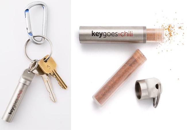 Chili Powder Keychain