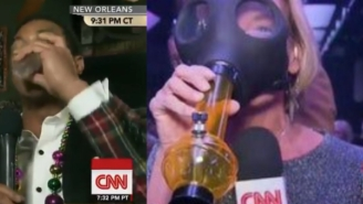 Don Lemon Got Drunk And Reporter Partied With Stoners On A Canni-bus On CNN's New Year's Eve Show