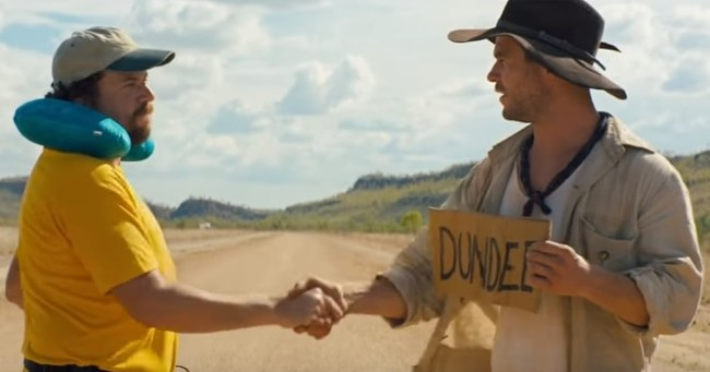 DUNDEE Official Trailer #2 Chris Hemsworth  Danny McBride Comedy Movie