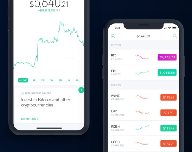is robinhood a bitcoin wallet