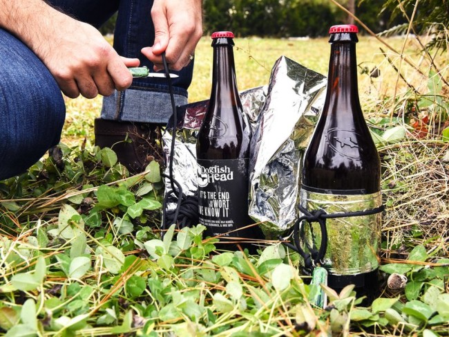 Dogfish Head Survival Beer