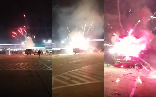 fireworks car houston