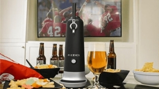 This Home Beer Dispenser Turns Any Canned Or Bottled Beer Into A Fresh Poured Draft