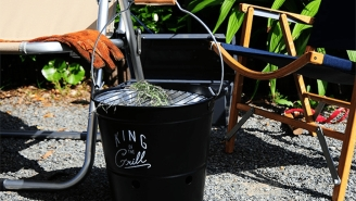 This Barbecue Bucket Is Perfect For Grilling Anywhere Plus It Looks Awesome