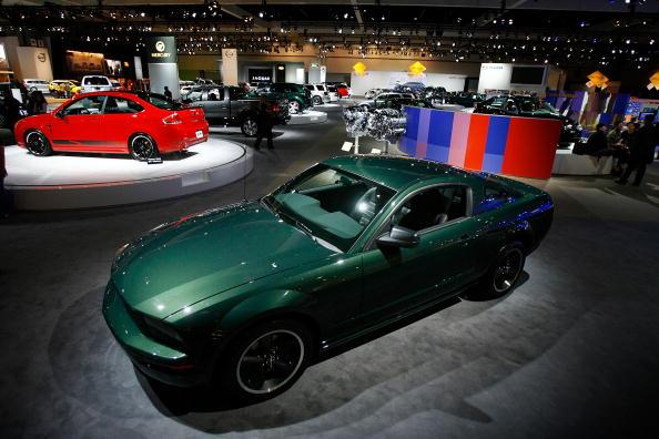 Ford displays its Mustang Bullitt