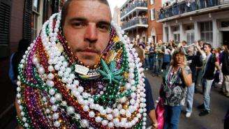 New Orleans Pulls 93,000 Pounds Of Mardi Gras Beads From Storm Drains
