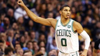 Celtics' Jayson Tatum Is Reportedly Pulling A Lou Williams And Is Dating Two Girls At The Same Time