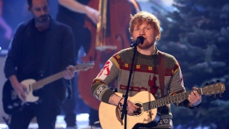 Ed Sheeran Announces He's Engaged With Instagram Photo