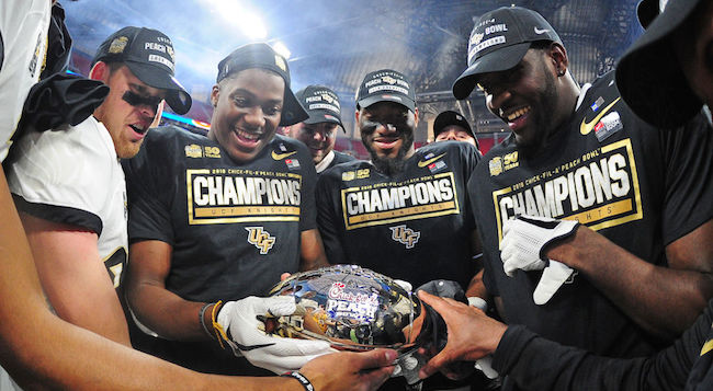 ucf football peach bowl