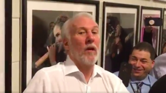 Gregg Popovich Mocked NBA 'Tough Guys' For Never Actually Fighting