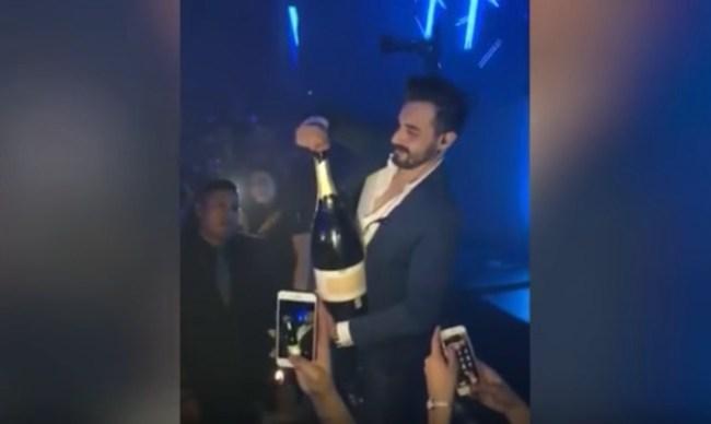 shatters champagne ibiza