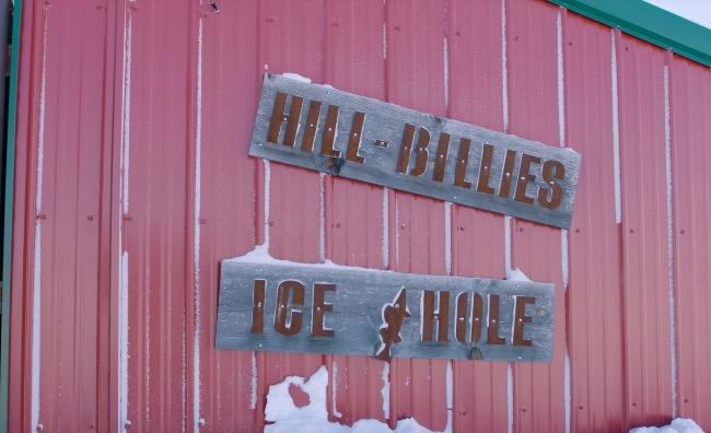 Ice Fishing Bar Minnesota