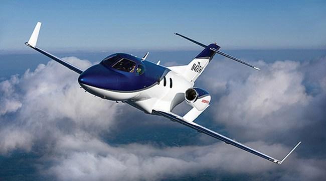 HondaJet private jet review video pics