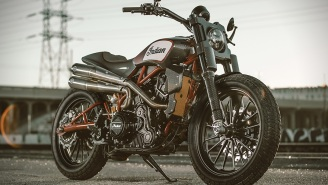Indian Motorcycles' Scout FTR750 Dominating American Flat Track But You Want A Scout FTR1200 Custom